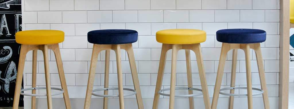 Bar Stool Cushions Replacement, Round Bar Seat Cushions